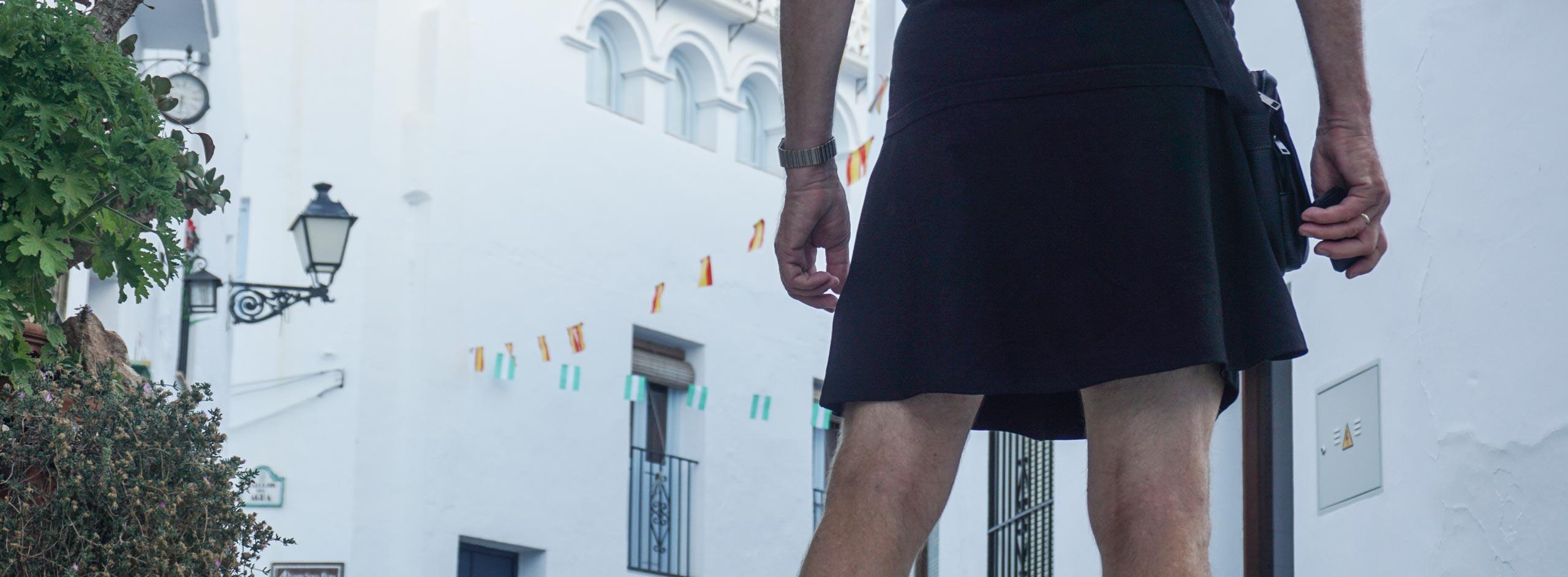 Röcke tragen müssen männer Männer brauchen